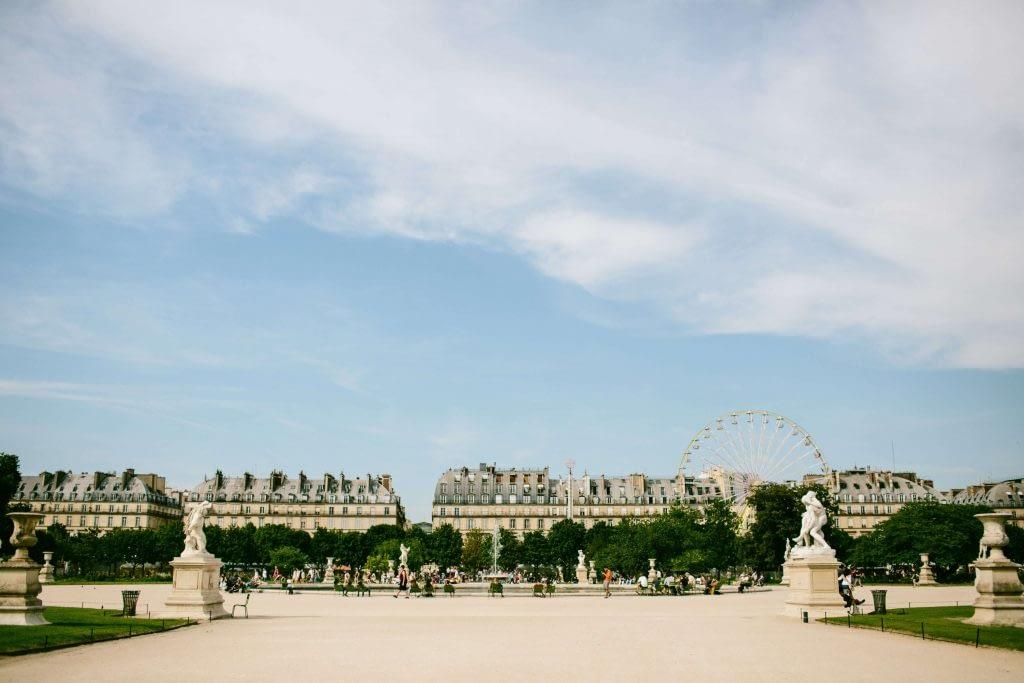Tour Jardin des Tuileries