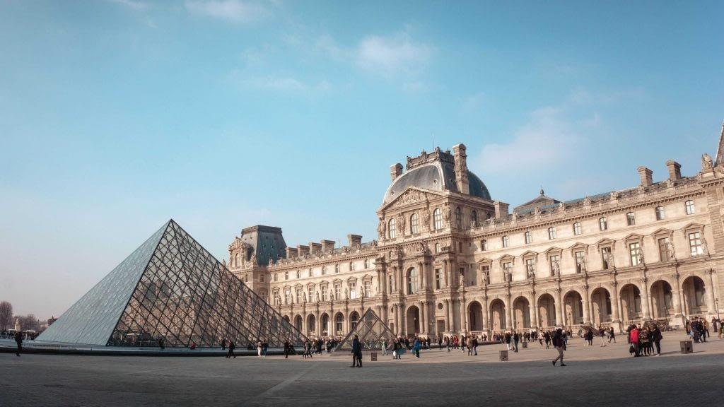 Explore the Louvre