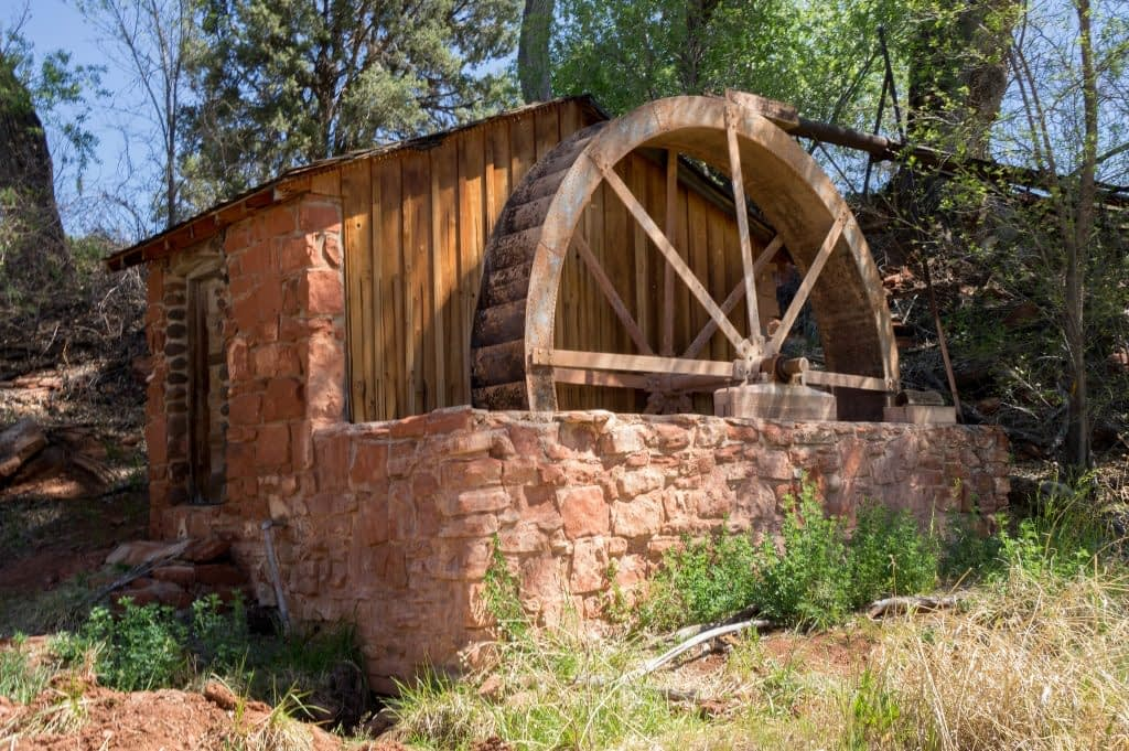 Water Wheel and Ellison Creek Cascades