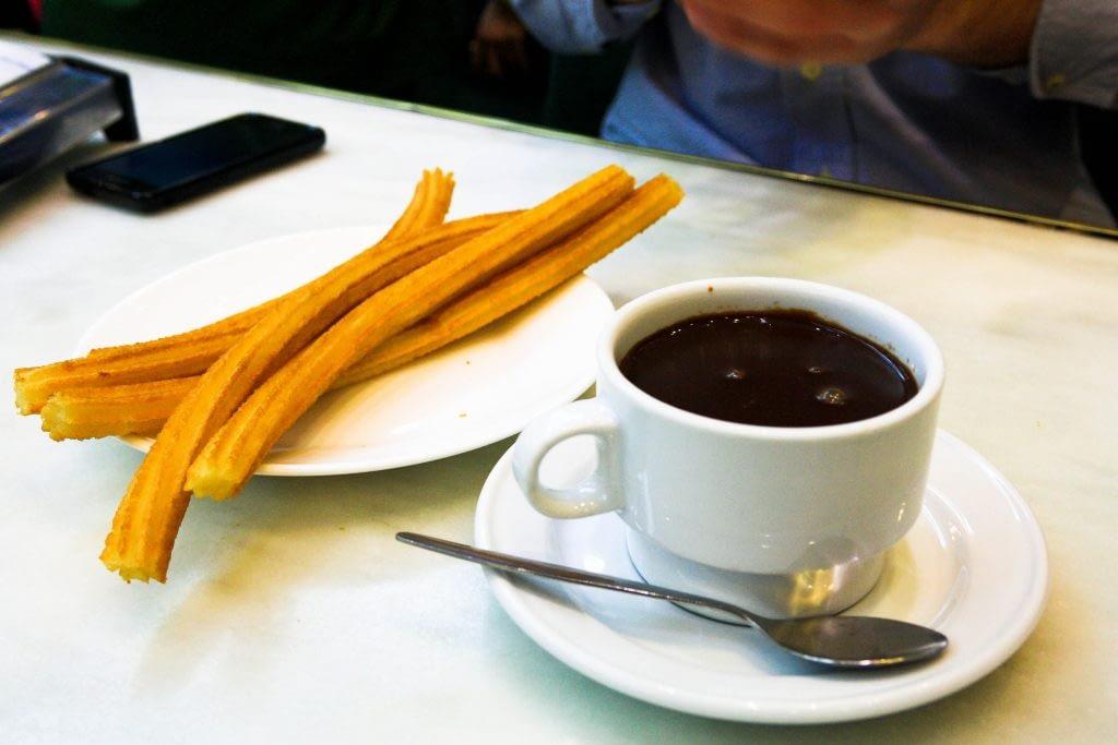 San Ginés for churros