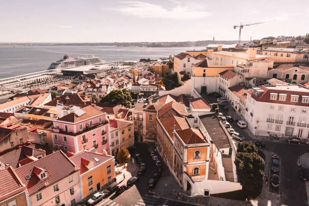 Have a scenic helicopter flight over the Lisbon city