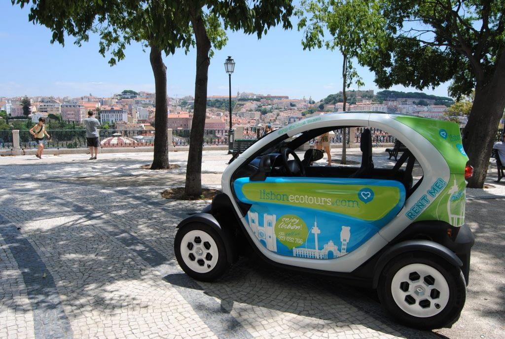 Twizy Electric Rental Car