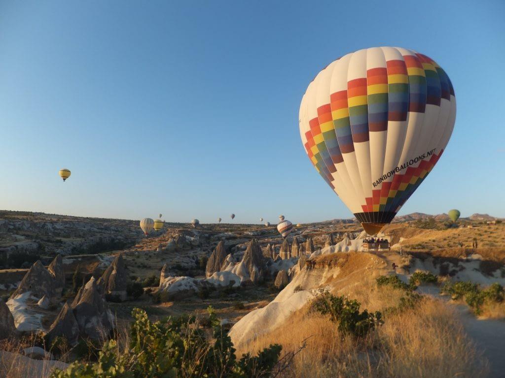 Hot Air Balloons Trip at Coruche