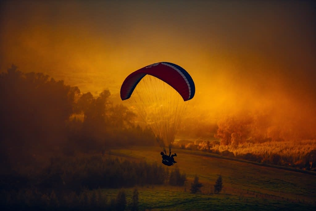 Take Part in Paragliding