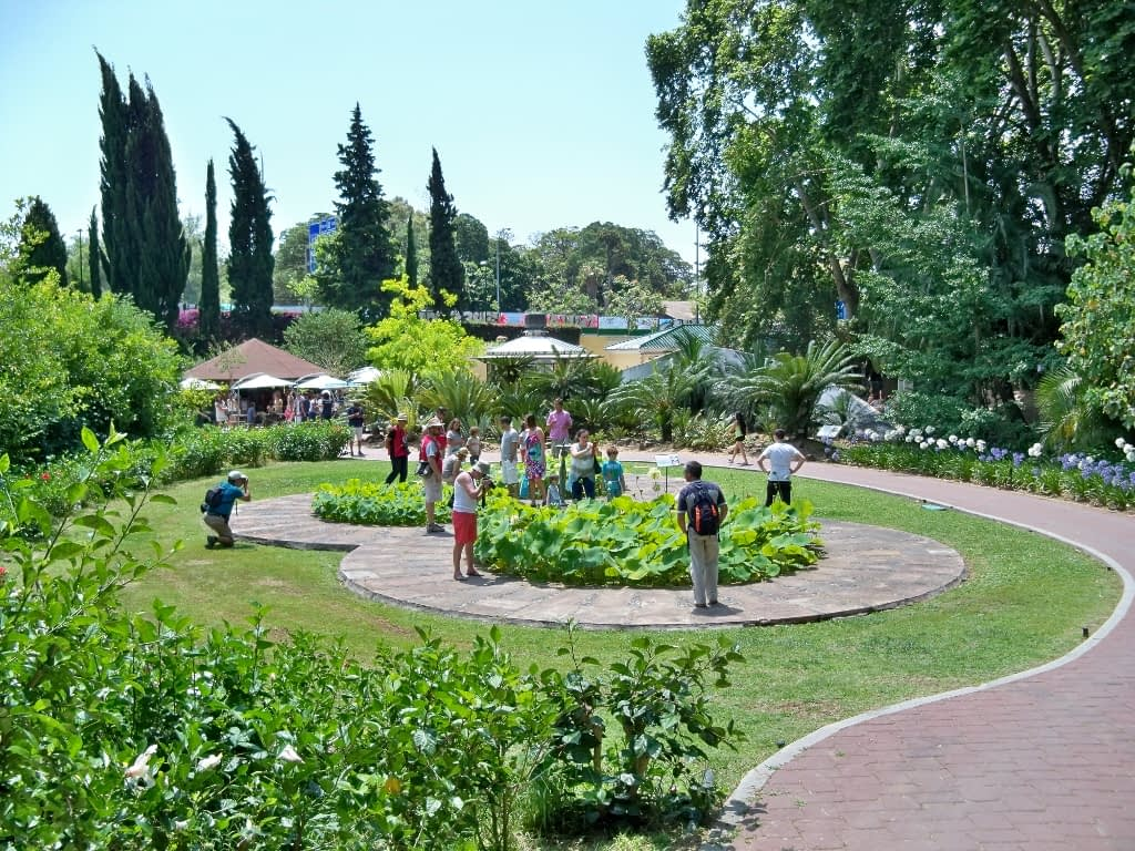 Historico la Concepcion botanical garden