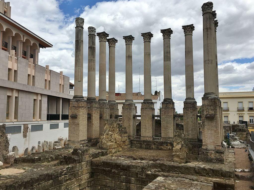 Roman temple of Cordoba