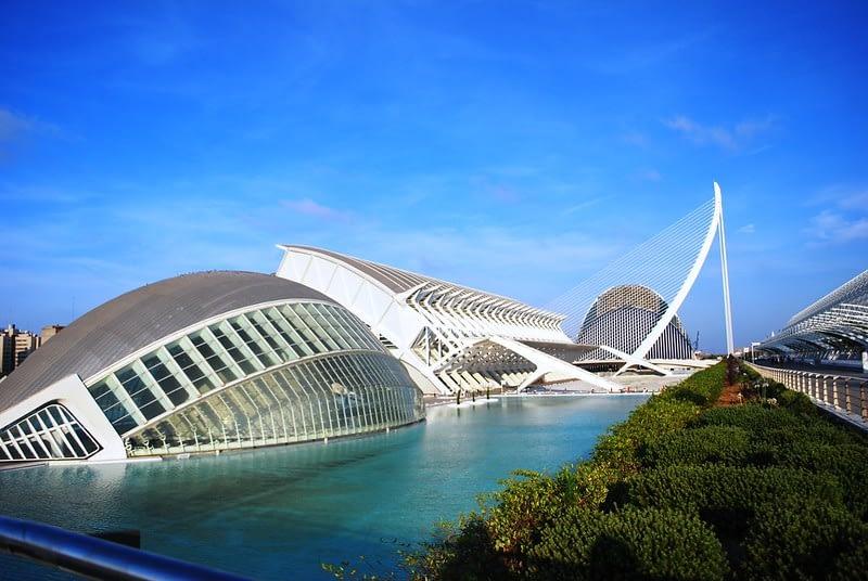 places to visit in Valencia Ciudad de las Artes y las Ciencias