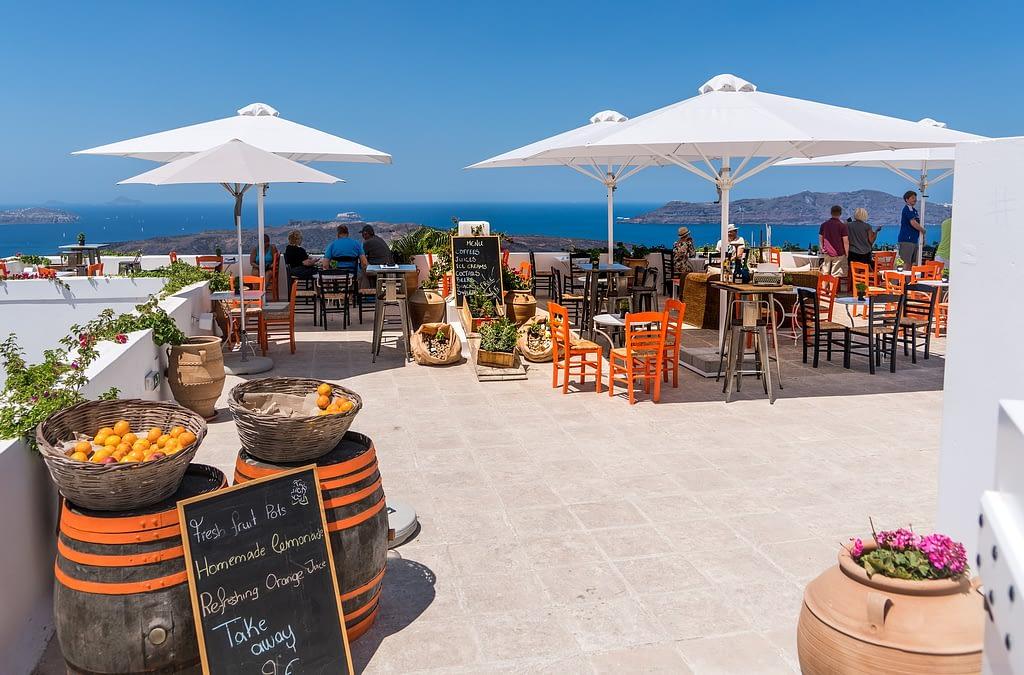 Restaurant in Santorini