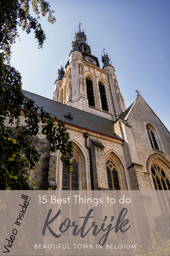 15 Best Things to do in Kortrijk