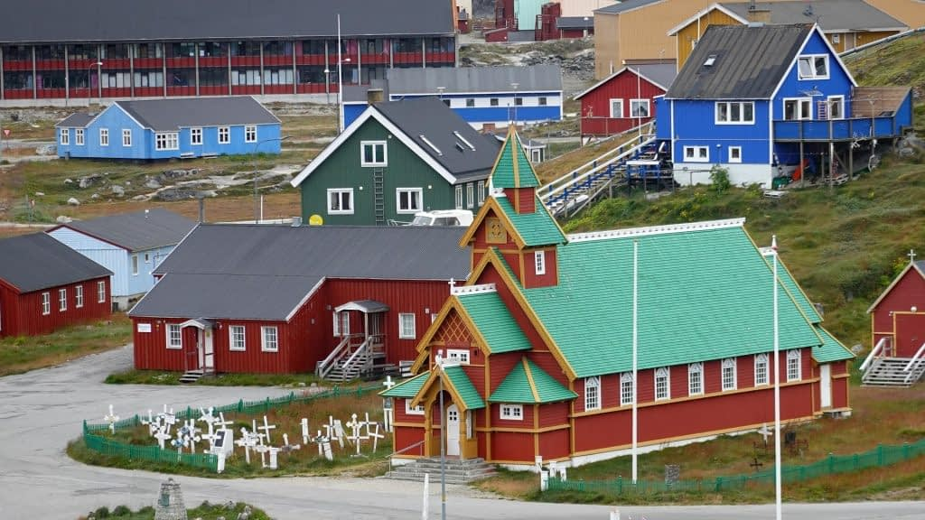 Christianity homes in Greenland