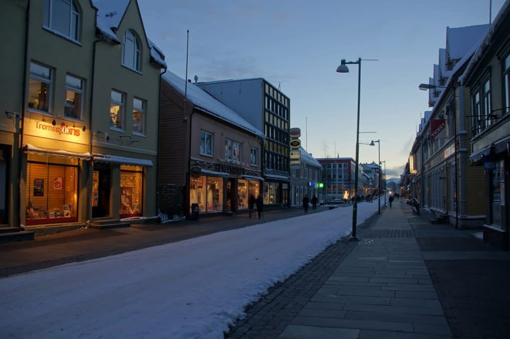Magical snowy landscapes in Tromso and Alta